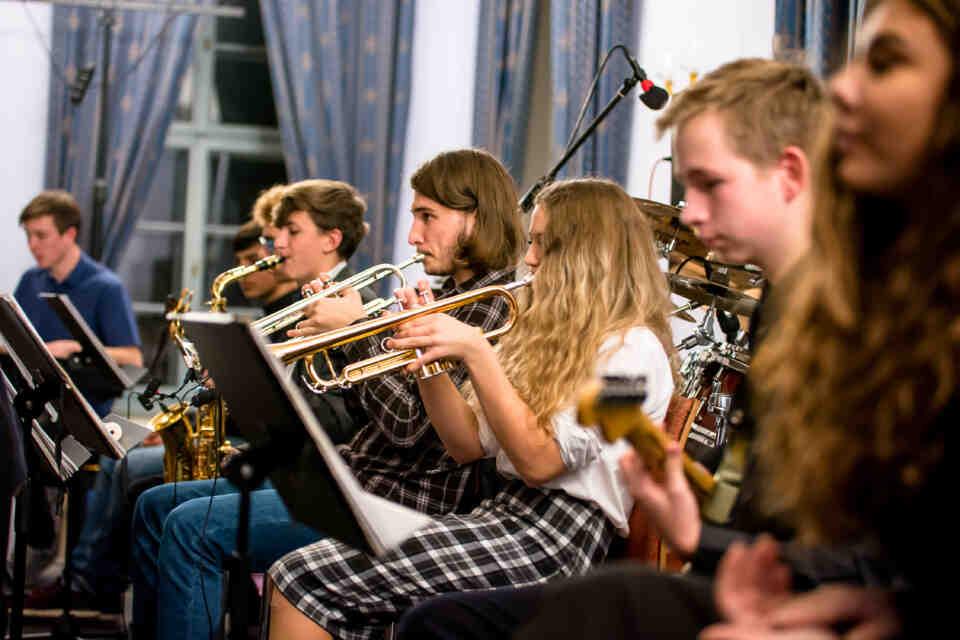 Header Image - Studentský pop-rockový orchestr